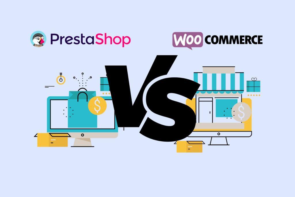 Choix de CMS Prestashop ou Woocommerce